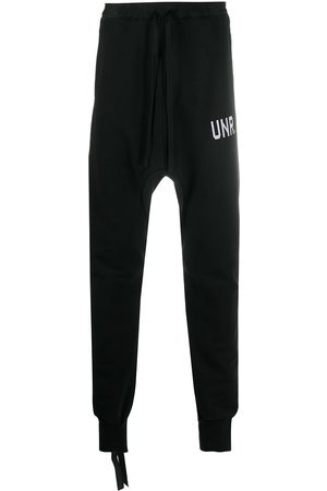 Unravel Project Drop-crotch track pants