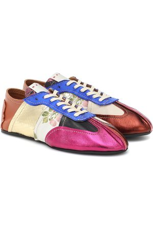 Marni Sneakers Tapestry aus Leder