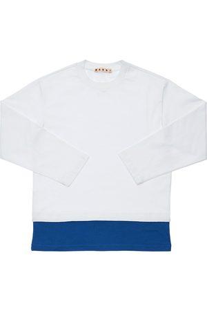 Marni T-shirt Aus Baumwolljersey Mit Logo
