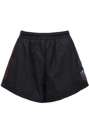 adidas Damen Shorts - Shorts Mit Seitennstreifen