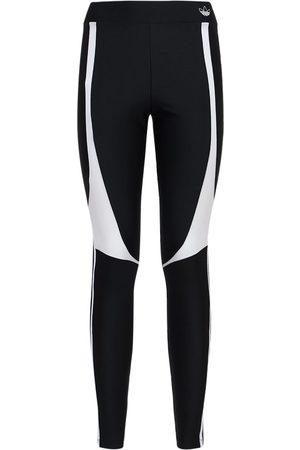 adidas Damen Leggings & Treggings - Leggings Mit 3 Streifen