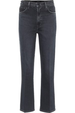 J Brand High-Rise Cropped Jeans Julia