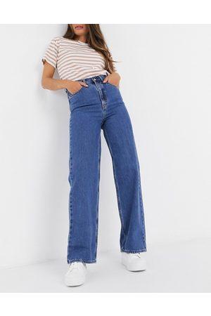 Levi's Levi's high loose straight leg jeans in dark