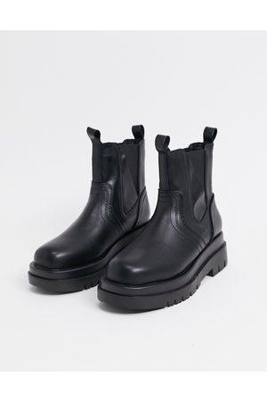 Raid Brazen chunky biker boots in