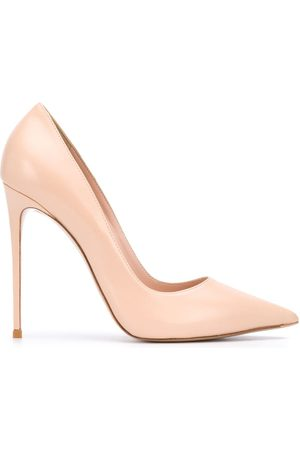 LE SILLA Damen Pumps - Pointed toe leather pumps