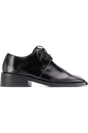 MARSÈLL Square toe lace-up shoes