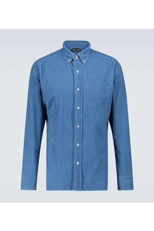 Tom Ford Hemd aus Baumwollcord