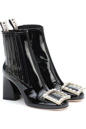Roger Vivier Ankle Boots Très Vivier Strass