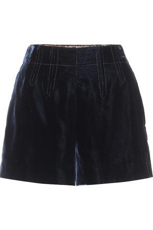 Etro Exklusiv bei Mytheresa – Shorts aus Samt