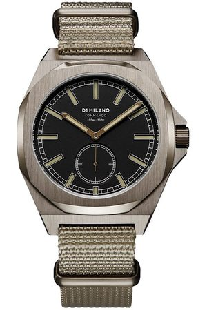 D1 MILANO Lawrence Commando 38mm watch
