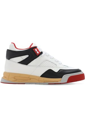 """Maison Margiela Herren Sneakers - 35mm Hohe Sneakers Aus Leder """"deadstock"""""""
