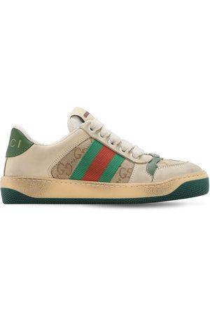 Gucci Sneakers Aus Canvas Mit Gewebe