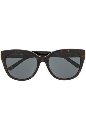 Balenciaga Tortoiseshell cat-eye BB sunglasses