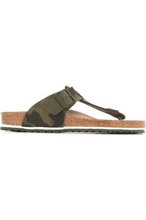 Birkenstock Herren Flip Flops - Camouflage print flip flops