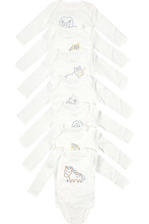 Stella McCartney Baby Set aus sieben Bodys