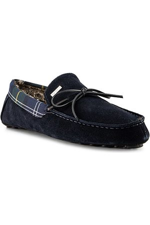 Barbour Schuhe Tueart navy suede MSL0009NY52