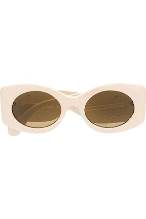 Gucci Logo plaque sunglasses
