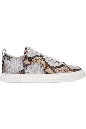 Giuseppe Zanotti Blabber snakeskin-effect sneakers