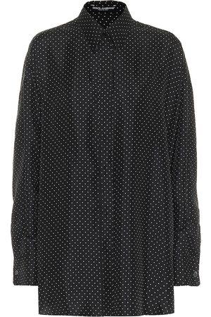 Dolce & Gabbana Hemd aus Seiden-Twill