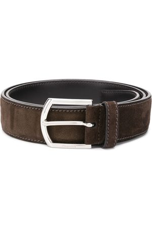 Church's Buckled suede belt