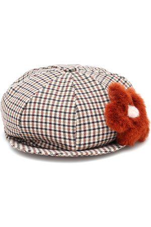 Il gufo Karierter Hut