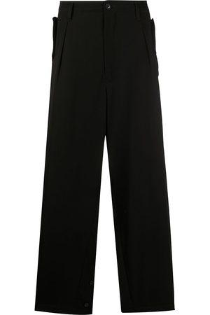 YOHJI YAMAMOTO Herren Hosen & Jeans - Straight loose fit trousers