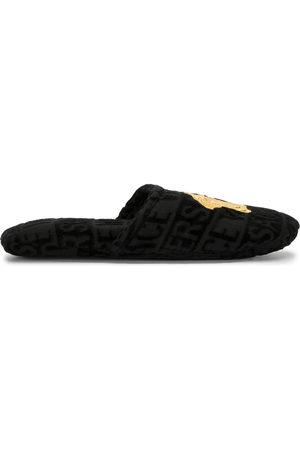 VERSACE Halbschuhe - Medusa terricloth slippers