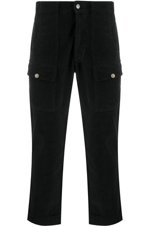 Palm Angels Cropped denim trousers