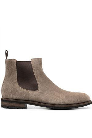 santoni Herren Chelsea Boots - Suede Chelsea boots