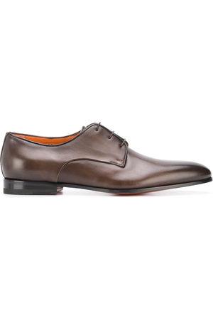 santoni Leather lace-up shoes