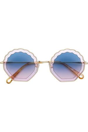 Chloé Shell shaped sunglasses