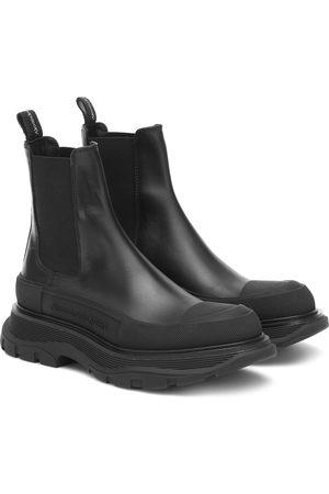 Alexander McQueen Ankle Boots Tread aus Leder