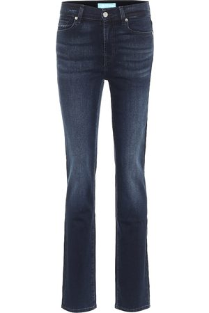 7 for all Mankind High-Rise Jeans The Straight B(AIR)
