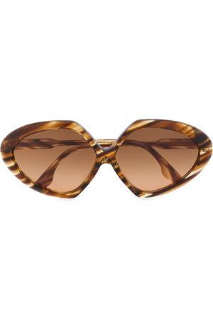 Victoria Beckham Angular-frame sunglasses