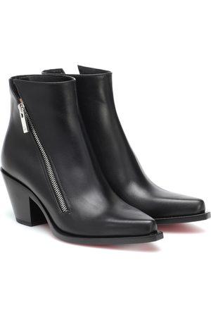 Christian Louboutin Ankle Boots Santiazip 65 aus Leder