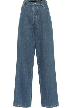 Kwaidan Editions High-Rise Jeans mit weitem Bein