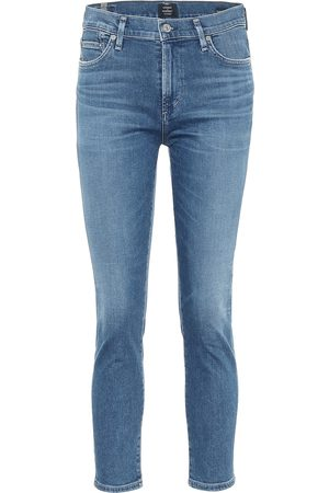 Citizens of Humanity Mid-Rise Skinny Jeans Rocket