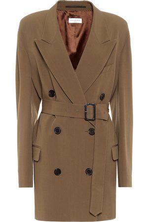 DRIES VAN NOTEN Mantel aus Wolle