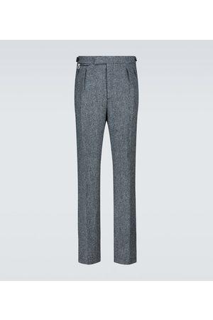 RAF SIMONS Wide-Leg-Hose aus Wolle