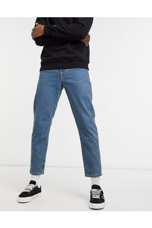 ASOS Classic rigid jeans in tinted mid wash