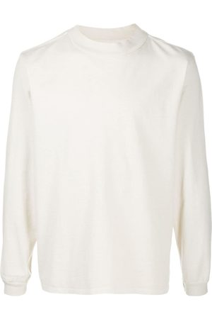 Les Tien Herren Sweatshirts - Mock-neck cotton sweatshirt