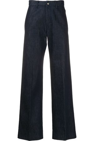 Ami High-waist straight-leg jeans