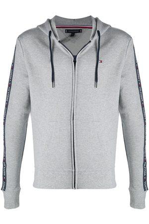 Tommy Hilfiger Logo-tape zipped hoodie