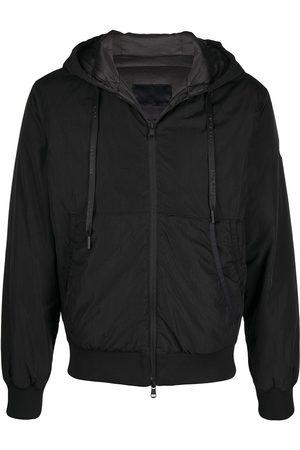 Moncler Herren Regenjacken - Logo patch rain jacket