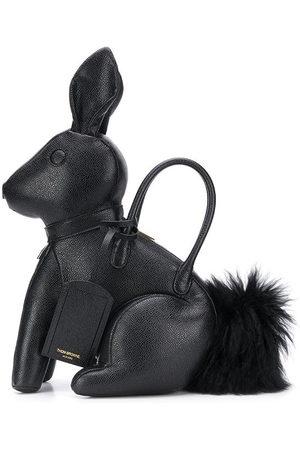Thom Browne Rabbit pebbled bag