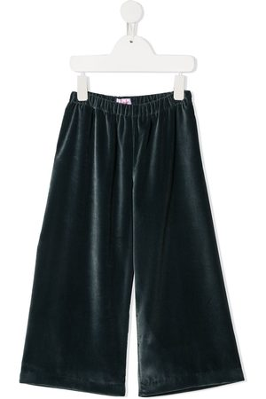 Il gufo Velvet wide-leg trousers