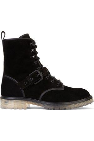 Giuseppe Zanotti Herren Stiefel - Lace-up buckle detail boots