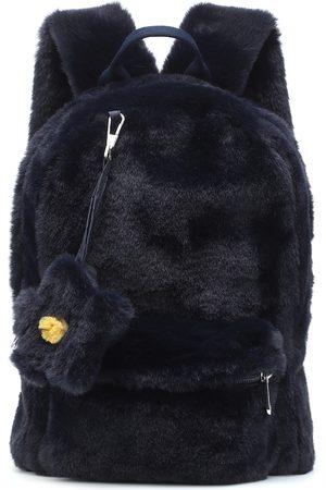 Il gufo Rucksack aus Faux Fur