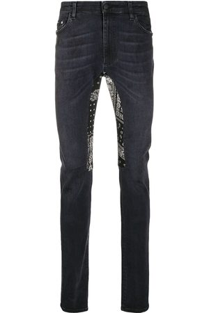 Alchemist Bandana detail skinny-fit jeans