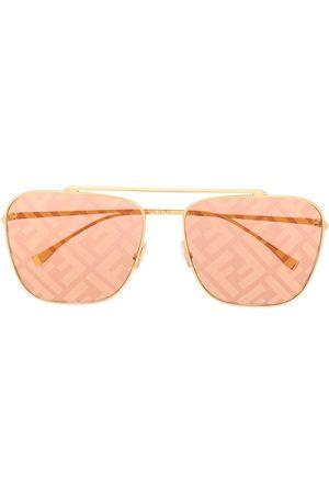 Fendi FF logo aviator sunglasses